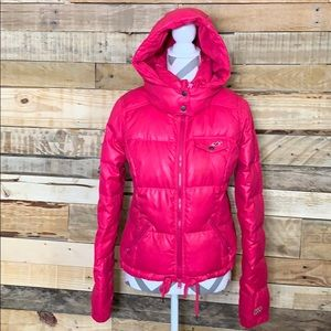 Jacket Hollister (Hot Pink )